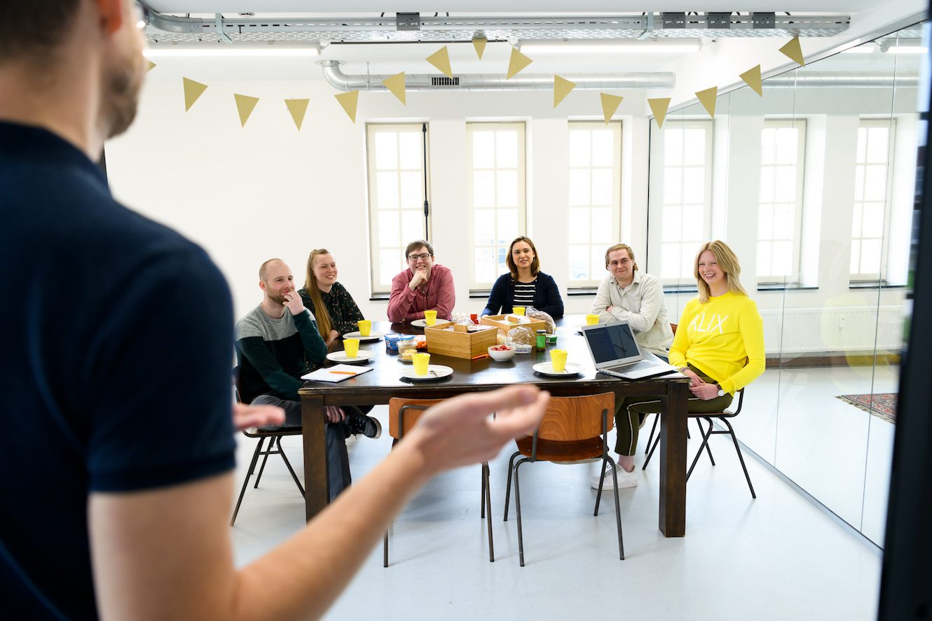 instagram agency jaap geeft interne workshop